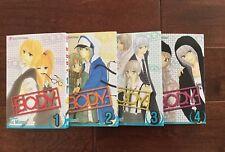 B.O.D.Y. Manga Set 1-4 ~Brand New, English~ *SPECIAL MANGA SALE* VIZ Media
