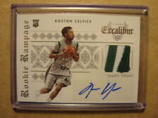 2014-15 James Young Excaliber Rookie Rampage Autograph Patch RC Auto