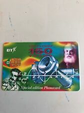 BT Special Edition Phonecard 150 Years Since Birth Of Alexander Graham Bell