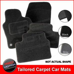 Ford Escort Mk2 1974-1980 Tailored Carpet Car Mats BLACK / GREY