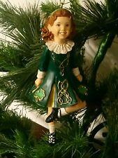 Kurt S. Adler Celtic Irish Step Dancer Dancing Girl Christmas Tree Ornament