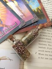 WITCHES HERB BOTTLE OF GOOD LUCK FOR YOUR DRIVING TEST - SPELL, WICCA, SPELL KIT