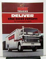 1982 Mack Truck Model MS300T Mid Liner Beverage Hauler Sales Brochure