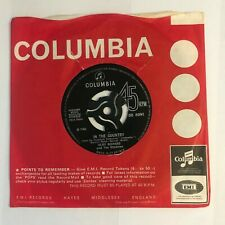 """Cliff Richard & The Shadows - """"In The Country""""  7"""" (1966) DB 8094 Columbia  SIN3"""