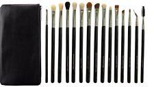 15Pcs  Eye Makeup Brushes Set Eyeshadow Eyeliner Blending Brush with case bag