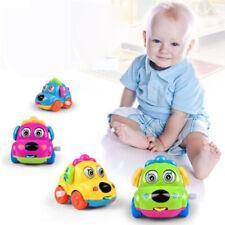 Educational Baby Toys Cartoon Clockwork Puppy Car Shaking Tail/Flexible Tongue