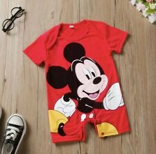 Mickey Mouse 3er Pack Manches Courtes Bodies Disney Baby Garçon 68,80,86,92