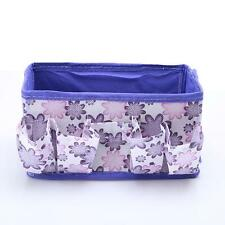 Desk Storage Box Jewelry Cosmetic Holder Stationery Organizer Case Bag NEW - CB
