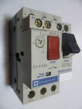Telemecanique GV2-M04 Motor Starter Protector GV2M04 0.4AMP-0.63AMP 690V