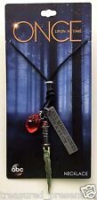 Disney ABC Once Upon A Time OUAT Rumplestiltskin Rumple Dagger Pendant Necklace
