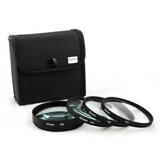 Jackar 52mm Close-Up Filter Set(+1,2,4,10) For Sony Zeiss Touit 50mm Sigma APS-C
