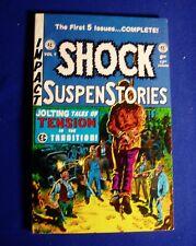 ShockSuspenStories vol 1:  reprints EC nos 1-5 . Gemstone 1994 paperback.