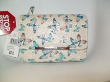 "Mundi Amsterdam RFID  Butterfly Flutter Wallet   5-1/2""L x 3-1/2""T"
