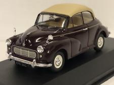Corgi VA07105 Morris Minor Convertible Maroon B 1:43 Scale
