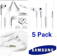 Samsung Headset Earphones Headphone Earbud S6/S5/Note 5 EO-HS3303WE 5 PK OEM