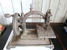 ancienne machine a coudre 19 éme a restaurer