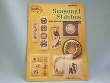 Seasonal Stitches Counted Cross Stitch Christmas Spring Alphabets Fall Holiday