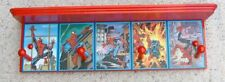 spiderman wall shelf coat rack red 5 picture