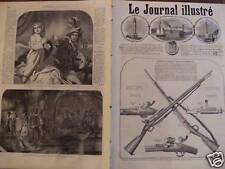 LE JOURNAL ILLUSTRE 1866 N 142 - LES FUSILS A AIGUILLE CHASSEPOT DE NOS ARMEES