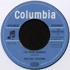 "ESTHER OFARIM ~ I'M YOUR WOMAN / WAKING UP ~ 1973 GERMAN 7"" SINGLE"