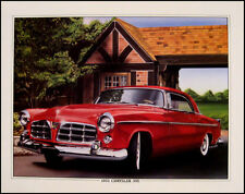 1955 Chrysler 300C Mopar Hemi Orig Art Print Lithograph