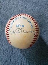 MLB Autographed Baseball featuring 4 Stars/ 2 HOF ( Eddie Murray + Jim Rice )