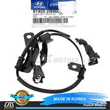 GENUINE ABS Sensor REAR LEFT 13-17 Hyundai Santa Fe Kia Sorento OEM 919202W000