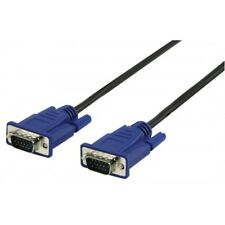Câble VGA 15 broches M/M  1.80 m  (liaison de l'écran à l'unité centrale)