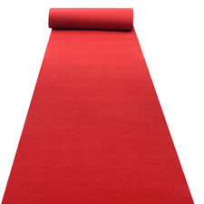 40x3.3Ft Red Carpet Wedding Aisle Floor Runner Long Hollywood Party Decoration