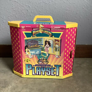 Vintage 90s Mighty Morphin Power Rangers Girls CARRYING CASE PLAYSET Sealed