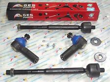 2WD w/Power Steering 4 Inner Outer Tie Rod Ends 95-04 Toyota Tacoma Pickup EV409