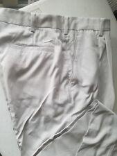 NIKE GOLF Mens Pants =Single PLEATED= Beige (Bone) for Mens Sz 38x35 (no hem)