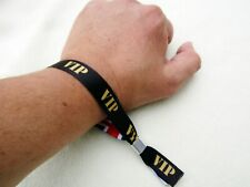 1 x VIP - UNION JACK ,TWO-SIDED PRINT FABRIC WRISTBAND, METAL SLIDE CLIP + GIFT