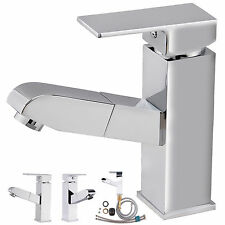 Faucet Apparatus Wash Basin Bathroom Faucet with Removable Hand Shower W84