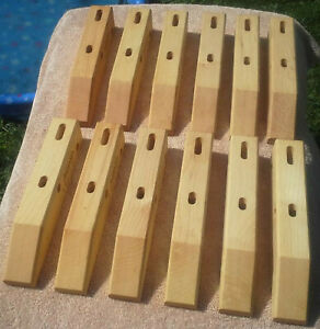 "Jorgensen Handscrew Qty 12pc 12"" Woodworking Parallel Pony Vise Block Plane"