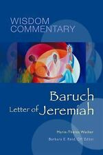 BARUCH AND THE LETTER OF JEREMIAH NEW HARDCOVER BOOK