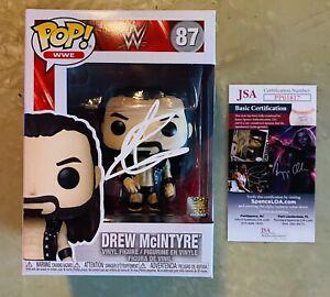 Drew McIntyre Signed Autographed WWE Funko POP JSA COA