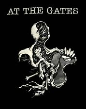 AT THE GATES cd lgo EATER OF GODS Official Tour SHIRT 2XL New OOP at war reality