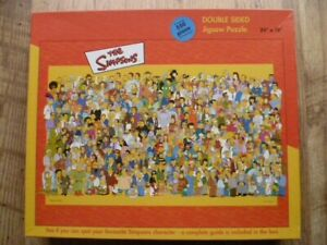THE SIMPSONS DOUBLE SIDE 550 PIECE JIGSAW PUZZLE