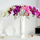 Beautiful Butterfly Orchid Silk Flower Home Wedding Party Phalaenopsis Bouquet W