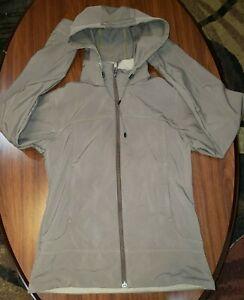 Marmot Full Zip Soft Shell Hooded Jacket - Women's SZ MED Brown
