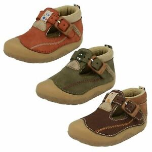 "Boys ""Tiny"" Pre Walkers Shoes by Start Rite"