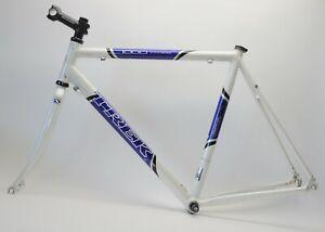 VINTAGE TREK 1000 ALPHA ALUMINUM 700C WHEEL BICYCLE 58 CM FRAME & FORK 130 MM
