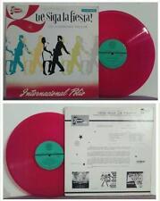 LP 33 Giri ORQUESTA INTERNACIONAL POLIO Que Siga La Fiesta! DIL-08 red vinyl