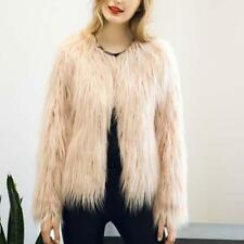 Women Winter Faux Fur Coat Warm-Outwear