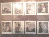1939  OLD MASTERS famous paintings portraits set 36 cards Tobacco Cigarette