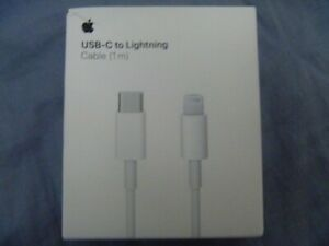 Genuine Apple USB-C To Lighting Charging Cable (1M)