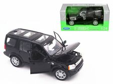 WELLY 1:24 W/B LAND ROVER DISCOVERY 4 Diecast Car Model Black