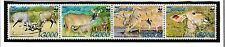 ZAMBIA Sc 1103 NH STRIP+MINISHEET of 2008 - WWF - WILD ANIMALS
