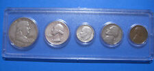 1961 US Coin Year Set 5 Coins 90% Silver